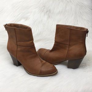 NWOT Diba London Tan Elyse Boots - Sz 9